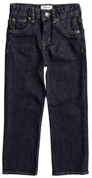 Quiksilver Boy's Sequel Rinse Jeans