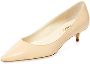 Butter Shoes Women's Petunia Leather Kitten Heel