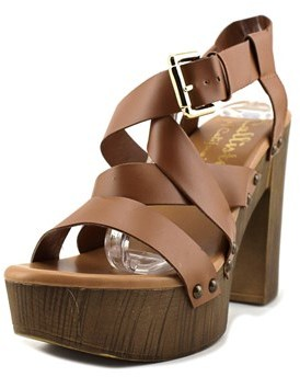 Callisto Westyle Open Toe Leather Sandals.
