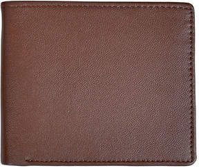 Royce Leather Royce Double ID Flap Leather Bifold Wallet