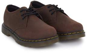 Dr. Martens Brown Distressed Leather Shoes