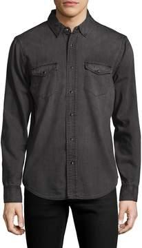 BLK DNM Men's 25 Spread Collar Shirt