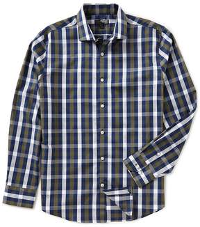 Murano Slim Liquid Luxury Long Sleeve Spread Collar Multi Shirt