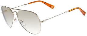 MCM Foldable Aviator Sunglasses
