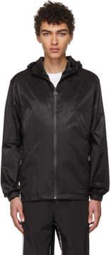 MSGM Black Logo Print Jacket