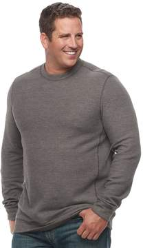 Croft & Barrow Big & Tall Classic-Fit Reversible Ribbed Crewneck Tee