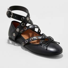 Mossimo Women's Nessa Strappy Ballet Flats with Studs