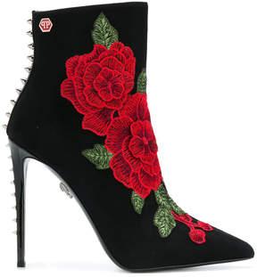 Philipp Plein Janice ankle boots