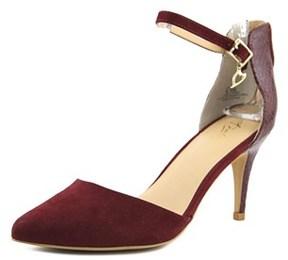 Thalia Sodi Vanessa Open Toe Canvas Sandals.