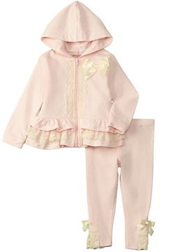 Nanette Lepore Girls' French Terry And Bow Set