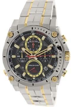 Bulova Men's 98B228 Precisionist Stainless Steel Watch, 45mm