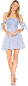 Bardot Linen Stripe Dress