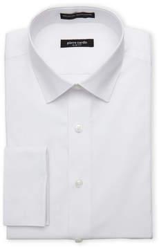 Pierre Cardin White Slim Fit French Cuff Dress Shirt