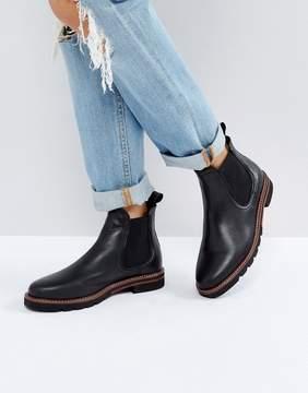 Dune London Quart Leather Chelsea Boots
