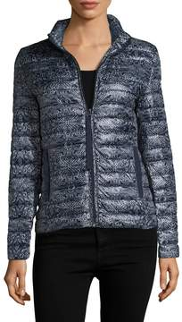 Velvet by Graham & Spencer Women's Zip-Front Puffer Coat