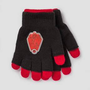 Star Wars Boys' Gloves - Black/Red One Size