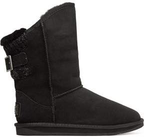 Australia Luxe Collective Spartan Ribbed-Trimmed Shearling Boots
