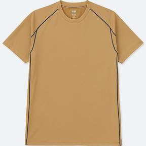 Uniqlo Men's Dry-ex Crewneck Short-sleeve T-Shirt
