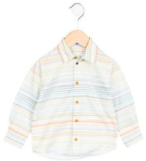 Paul Smith Boys' Striped Button-Up Shirt