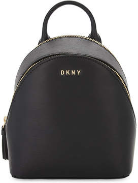 DKNY Bryant Park leather cross-body backpack