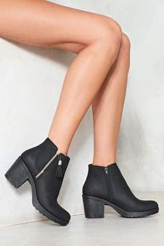 Nasty Gal nastygal Put Up With It Vegan Leather Boot