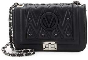 Mario Valentino Valentino by Women's Beatriz Studded Leather Crossbody Bag