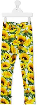 Molo sunflower print leggings