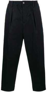 Marni cropped relaxed trousers