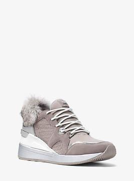 Michael Kors Scout Mixed-Media Sneaker