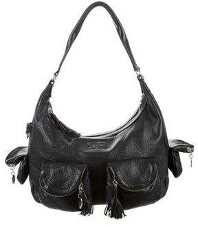 Sonia Rykiel Pebbled Leather Hobo