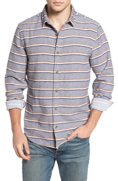 1901 Men's Stripe Flannel Shirt
