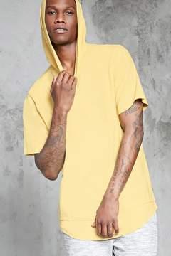 21men 21 MEN Short Sleeve Hoodie