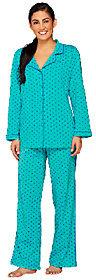 Isaac Mizrahi Live! Polka Dot Printed Pajama Set