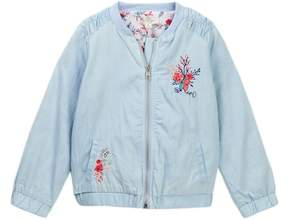 Jessica Simpson Embroidered Floral Bomber Jacket (Little Girls)