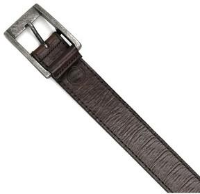 Boconi Men's Burnished Calfskin Leather Belt