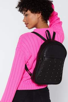 Nasty Gal WANT Dome is Where the Heart is Studded Backpack