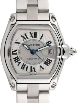 Cartier Men's Roadster Stainless Steel Watch, 44mm