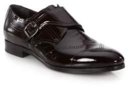 Jimmy Choo Patent Leather Monk-Strap Shoes