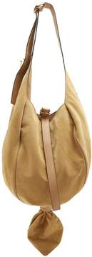 J.W.Anderson Knot suede and leather hobo bag