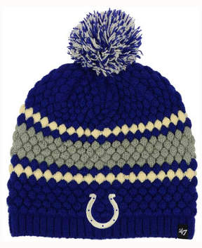 '47 Women's Indianapolis Colts Leslie Pom Knit