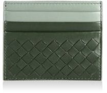 Bottega Veneta Kelly Leather Card Case Wallet