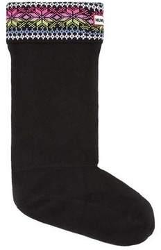Hunter Women's Fair Isle Star Boot Socks