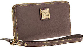 Dooney & Bourke As Is Saffiano Leather Zip Around Wristlet - ONE COLOR - STYLE