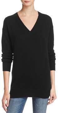 Aqua Cashmere V-Neck Tunic Sweater - 100% Exclusive