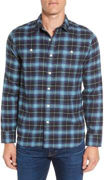 Grayers Landon Slim Fit Plaid Flannel Sport Shirt