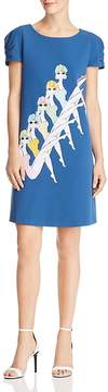 Moschino Synchronized Swimming Print Dress