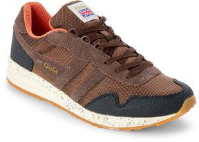 Gola Brown & Black Katana Ranger Low Top Sneakers