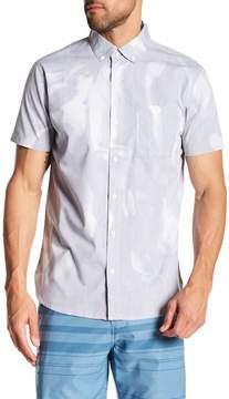 Lost Fluid Short Sleeve Regular Fit Woven Shirt