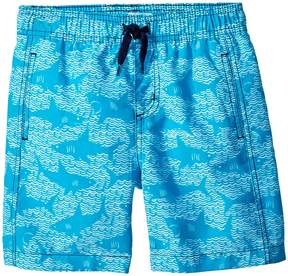 Hatley Shark Alley Swim Trunks Boy's Swimwear