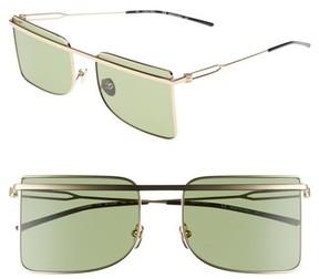 Calvin Klein Women's 56Mm Butterfly Sunglasses - Light Gold